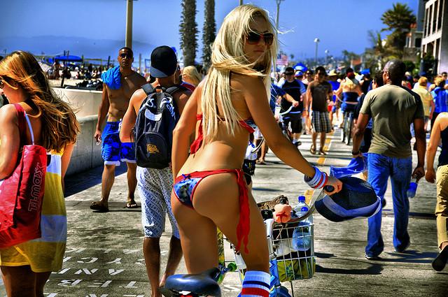 Hot Girls On Venice Beach